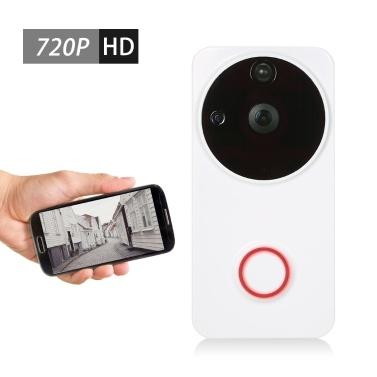 43% OFF 720P WiFi Visual Intercom Door Phone 2-way Audio Video Doorbell,limited offer $40.59