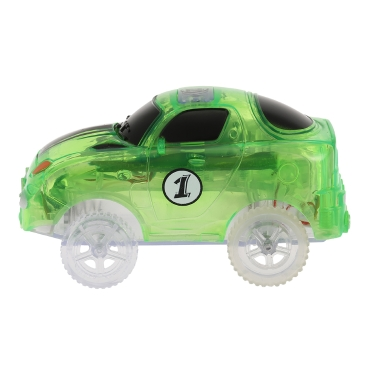 Glitter Track Race Car for 55mm Twister Tracks Neon Glow in Darkness for Kids