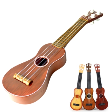 Fashion Ukulele for Student Children Kid Beginners Kids Acoustic Guitar Great Gift Kindergarten Toy Mini Music Instrument Random Color