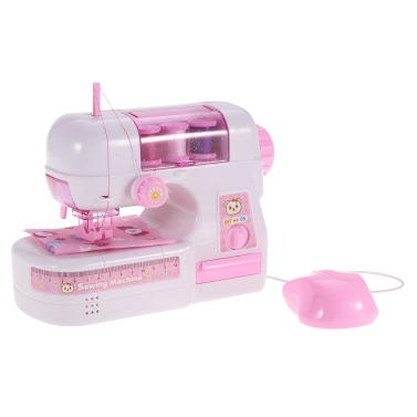 Electric Sewing Machine Toy Kids Pretend Play,free shipping $15.99(Code:TTSEW)