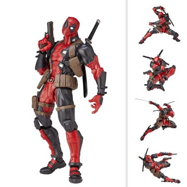 15cm Hight Cartoon PVC Action Figure - Deadpool