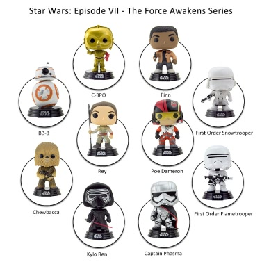 Funko POP Star Wars: Episode VII - The Force Awakens Finn Action Figure Collection Bobble-Head Decorative Article