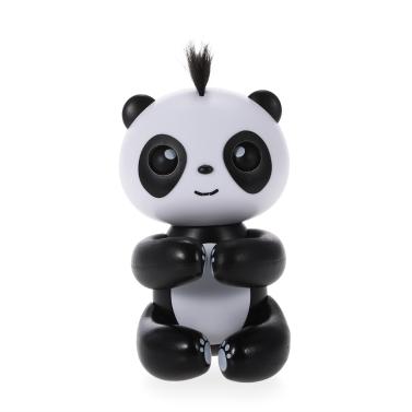 Toque de dedos Panda Smart Touch Inducción Juguetes para mascotas Juguete de punta interactiva divertido Lindo colgante de marionetas Mejor regalo de los niños