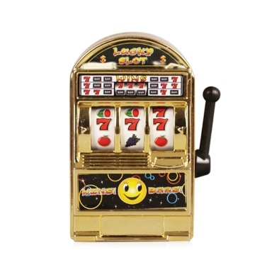 66% OFF Metal Mini Lucky Slot Machine,limited offer $2.39