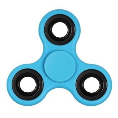 DIY Tri Fidget Spinner 360 ° Hand Finger Spinner Hybrid Rotation Lager Spin Widget Fokus Spielzeug Nylon PA Material für ADHS Angst Langeweile Erwachsene Kinder töten Zeit Red - Spinner Deal