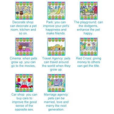 Tamagotchi Cartoon Electronic Pet Game