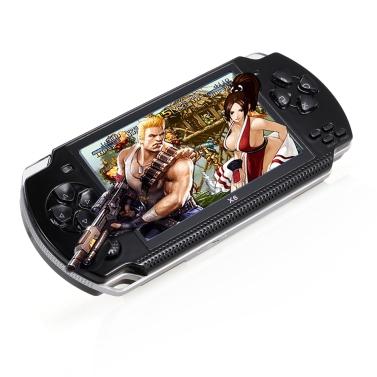Console de jeu portative de 4.3inch 8GB avec le soutien 1000 jeux classiques de soutien vidéo de vidéo et de musique
