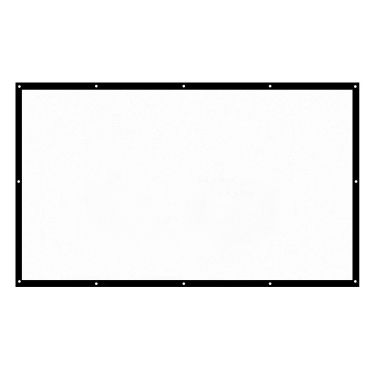 41% OFF H150 Foldable 16:9 150 Inch Projector Screen,limited offer $17.99