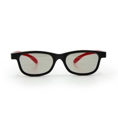 G66 Passive 3D-Brille Polarisierte Gläser für Kino Leichte, tragbare zum Ansehen von Filmen