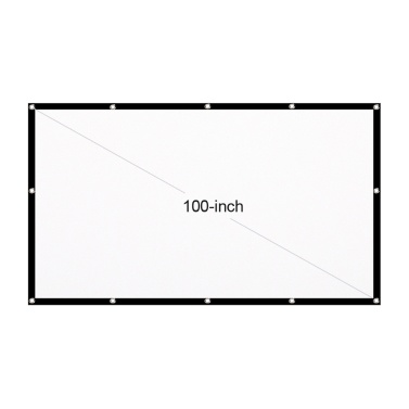 Tragbare HD-Projektionsfläche 16: 9 Projektionsfläche