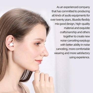 Bluedio NE Silicone Earplugs -40dB Noise Reduction Sound Insulation Ear Protection Anti-noise for Sleeping and Swimming