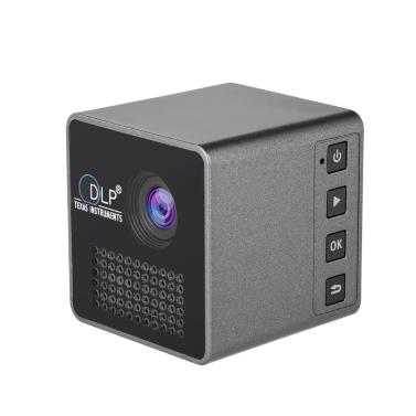Ultramini DLP Projector Portable 1080P HD Beamer Throw 70-calowy ekran 64G TF Card