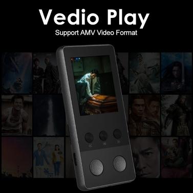A5 Plus 8GB Digital Player HiFi Metal Music MP3 Player Lossless APE FLAC  Audio & Video Player FM Radio Voice Recording w/ TF Card Slot 1 8