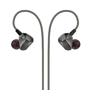 AUGLAMOUR F100 Dynamic 3.5mm Wired In-ear Earphone