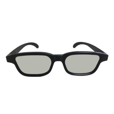G90 Passive 3D-Brille Polarisierte Gläser für Kino Leichte, tragbare Filme anschauen