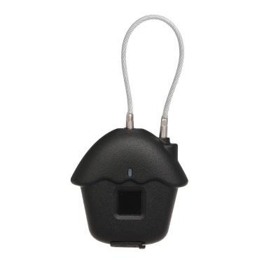 HK-03 Vorhängeschloss Fingerprint Lock Intelligentes biometrisches Schloss IP54 Wasserdichtes 2580 Switch Lock-Zeiten für Turnhalle Tür Gepäck Koffer Rucksack Bike Office