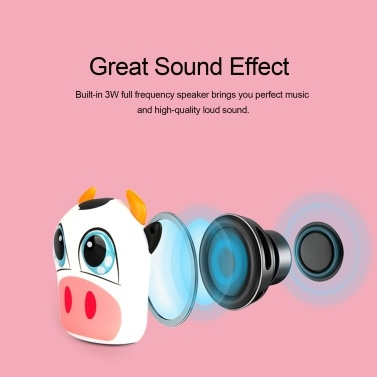 A1 Mini Speaker Wireless Bluetooth Speakers TWS Connection Portable Sound Box with Lanyard Remote Shutter Rechargeable Battery Hands-free with Mic
