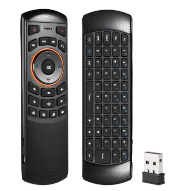 48% OFF 6 Gxes Gyroscope Mini 2.4GHz Wireless QWERTY Keyboard Air Mouse,limited offer $10.59
