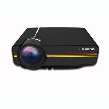 YG410 LCD tragbarer Mini HD verdrahteter Projektor