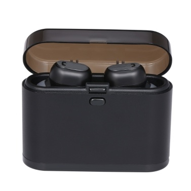 TWS Erabuds Wireless Bluetooth 5.0 Headphones Mic Charging Case True Wireless Stereo Headsets Support Single Headset Working Power Automatically
