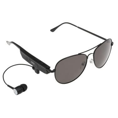 ワイヤレスBluetoothヘッドセットサングラスミュージックヘッドフォンスマートメガネインイヤーイヤホンマイク付きハンズフリー