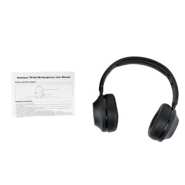 Retekess TR104 FM-Kopfhörer-Radioempfänger-Headset