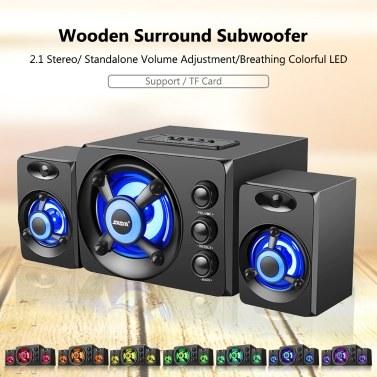 SADA D-208 3 in 1 Home Speaker Set Super Bass Subwoofer