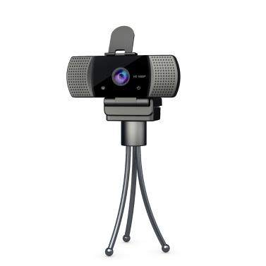 Full HD 1080P широкоугольный USB веб-камера USB 2.0 без дисковода с микрофоном Веб-камера ноутбука Онлайн-конференция по трансляции в прямом эфире Потоковое видео Вызов веб-камер Anti Peeping Webcame
