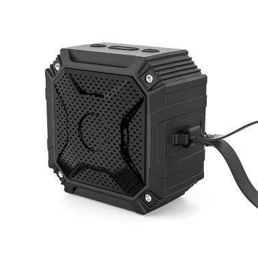 Smalody 8060BT Protable Bluetooth 5.0 Lautsprecher Wasserdichte kabellose Lautsprecher Soundbox Outdoor Travel Hook Lautsprecher USB TF Kartensteckplatz AUX IN