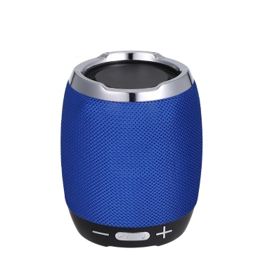 Portable Wireless BT Speaker Stereo Sound Box Music Player BT4.1 Built-in Microphone Support Handsfree Calls Function FM Radio Equipped TF Card Alot/AUX IN/USB Port