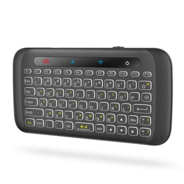 2.4GHz Backlight Colorful Wireless Keyboard with Large Touch Panel