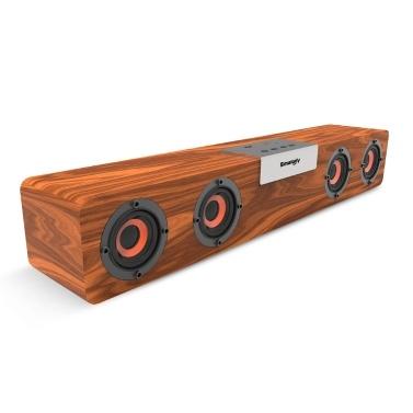 SMALODY SL-90H Bluetooth Soundbar Bluetooth 5.0-Lautsprecher Drahtloser Subwoofer 5 W * 4-Lautsprecher, die die TF-Kartenerweiterung im TWS-Modus unterstützen