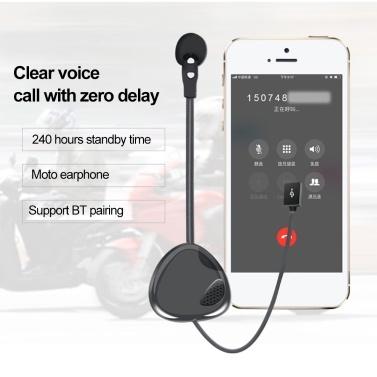 VNETPHONE V1-1 BT 2.1 Moto Helmet Headset Wireless Handsfree Stereo Earphone Motorcycle Helmet Headphones MP3 Speaker