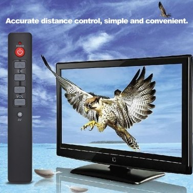 Universal Control Remote IR Learning Rmote Controller 6-Tasten-IR-Remote-TV-Controller für TV, DVD, VCR, SAT, CBL, VCD