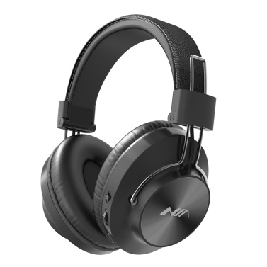 NIA S4000 Foldable Over Ear Music Headset Wireless Bluetooth Headphones Stereo Music Earphone 3.5mm AUX IN TF Card MP3 Player FM Radio with Microphone