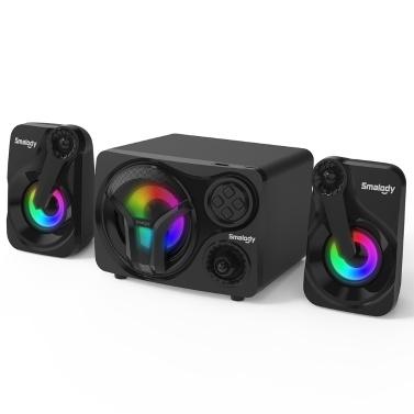 Smalody YXSM 8030 Bluetooth-Lautsprecher 3,5-mm-Kabellautsprecher 20W