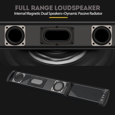 BS-41 Multifunction Sound Bar BT Speaker Home Theater Wall TV Surround Sound Sound-Stereo Wall-mounted Sound Machine Subwoofer Soundbar
