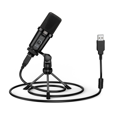 NEW BEE USB Microphone Computer Recording Microphone Stand Laptop Studio Recording Chatting Singing Meeting