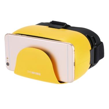 Bao Feng Mo Jing XD-4 VR Virtual Reality Brille 3D VR Brille Kopfhörer 3D Film Spiel Universal für Android iOS Smartphones innerhalb von 4,7 bis 5,7 Zoll