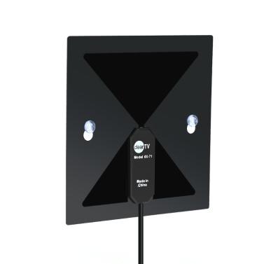X-71 Indoor Digital-TV-Antenne High-Definition-TV-Antenne Haus mit Sucker 450-860MHz F Stecker nur für Vereinigte Staaten von Amerika für HDTV / DTV