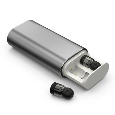 T10 Dual TWS True Wireless BT In-ear Earphone with Microphone