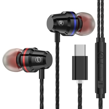 PTM M4 Wired In-Ear Headphone Type-C Interface