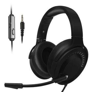 NUBWO N15 Gaming-Kopfhörer 3,5 mm, verkabelt über das Ohr