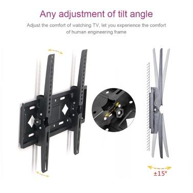 TV-Ständer Wandhalterung 26-65 Zoll Universal Bracket Monitor Support Retractable
