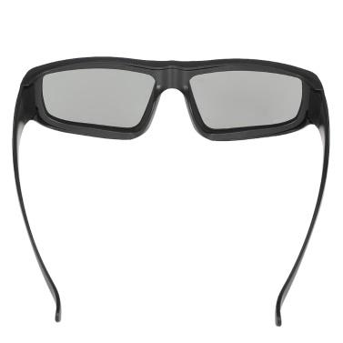Passive 3D Gläser kreisförmige polarisierte Linsen für polarisierte TV Real D 3D Kinos für Sony Panasonic