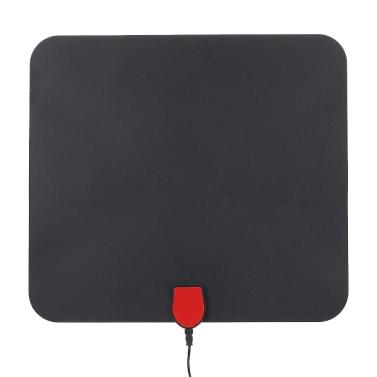 Indoor Digital-TV-Antenne High Performance 25 Meilen Reichweite mit 5M Koaxialkabel besseren Empfang HDTV
