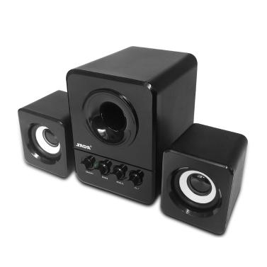 SADA D-203 USB Wired Combination Speaker Computer Speaker Bass Stereo Music Player Subwoofer Sound Box Desktop Laptop Notebook Tablet PC Smart Phone