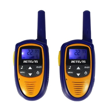 2PCS Retevis RT31 Children Radio Set Civilian Handheld Intercom 8 Channels UHF Kids License-free Walkie Talkie LCD Display VOX PTT