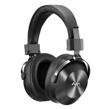 NIA X9 Wireless Bluetooth Headphones Foldable Over-ear Earphone Music Headset 3.5mm AUX IN TF Card Music Playback FM Radio with Microphone