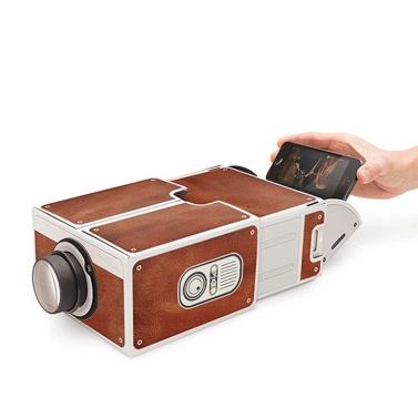 Portable Mini Smartphone Projektor Heimkino